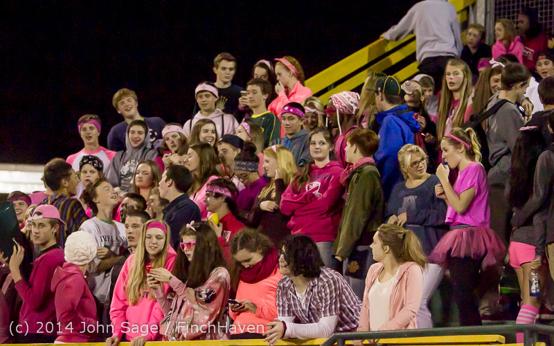 3954 Pink-Out at Football v CWA 101014