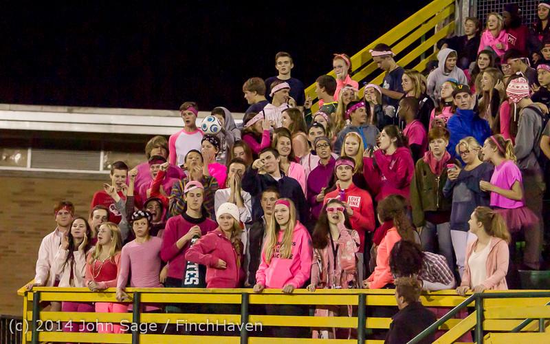 3968 Pink-Out at Football v CWA 101014