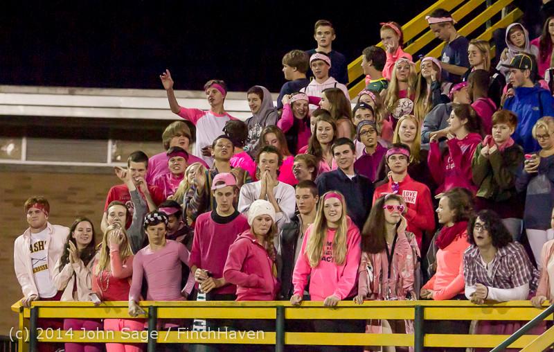 3976 Pink-Out at Football v CWA 101014