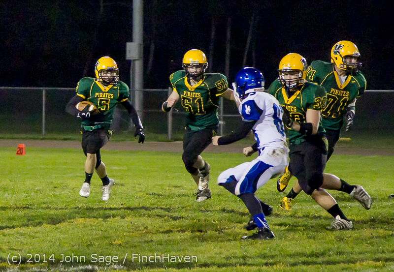 5724 Football v Chimacum 103114