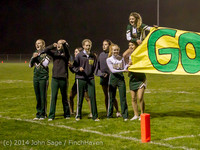 7447 Cheer-Band-Crowd Football v Chimacum 103114