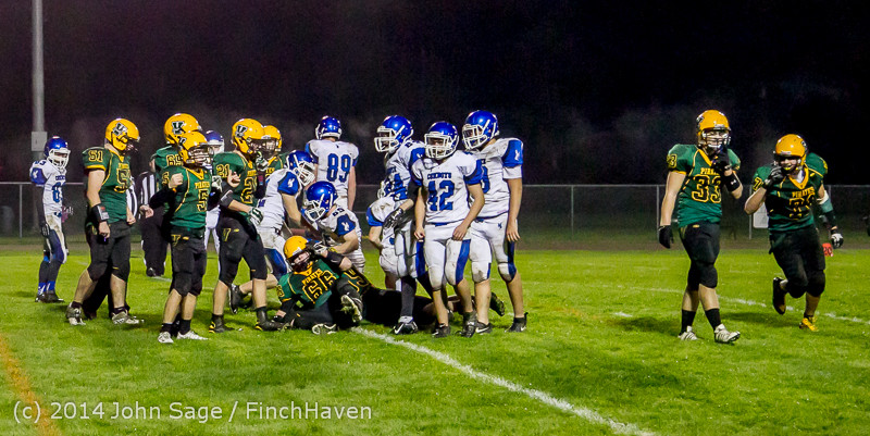 7554 Football v Chimacum 103114