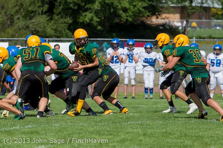 5023 Football v Orcas Island 090713