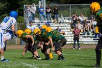 5040 Football v Orcas Island 090713