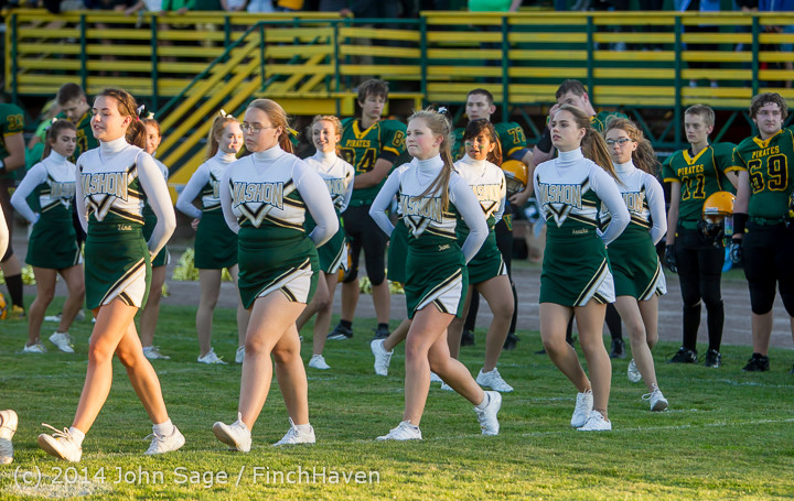 3746 Cheer-Crowd-Band Football v Port-Angeles 091214