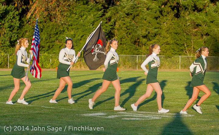 3812 Cheer-Crowd-Band Football v Port-Angeles 091214