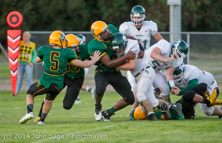 3923 Football v Port-Angeles 091214