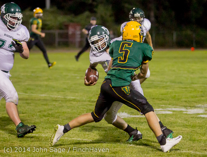6806 Football v Port-Angeles 091214
