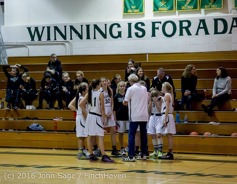 4028 Girls JV Basketball v Coupeville 122215