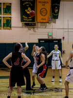 4034 Girls JV Basketball v Coupeville 122215