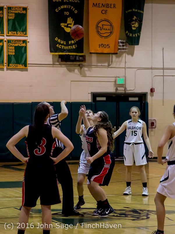 4034 Girls JV Basketball v Coupeville 122215