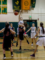 4039 Girls JV Basketball v Coupeville 122215