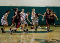 4045 Girls JV Basketball v Coupeville 122215