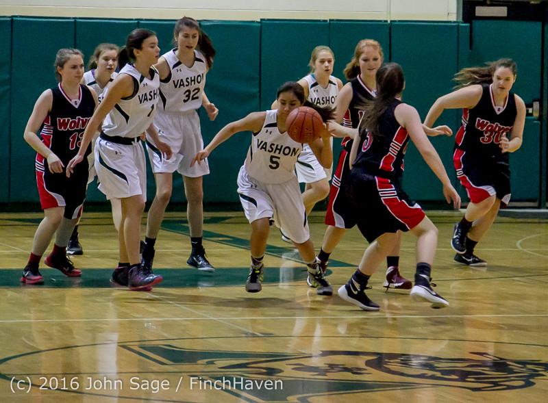 4052 Girls JV Basketball v Coupeville 122215