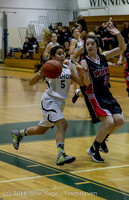 4053 Girls JV Basketball v Coupeville 122215