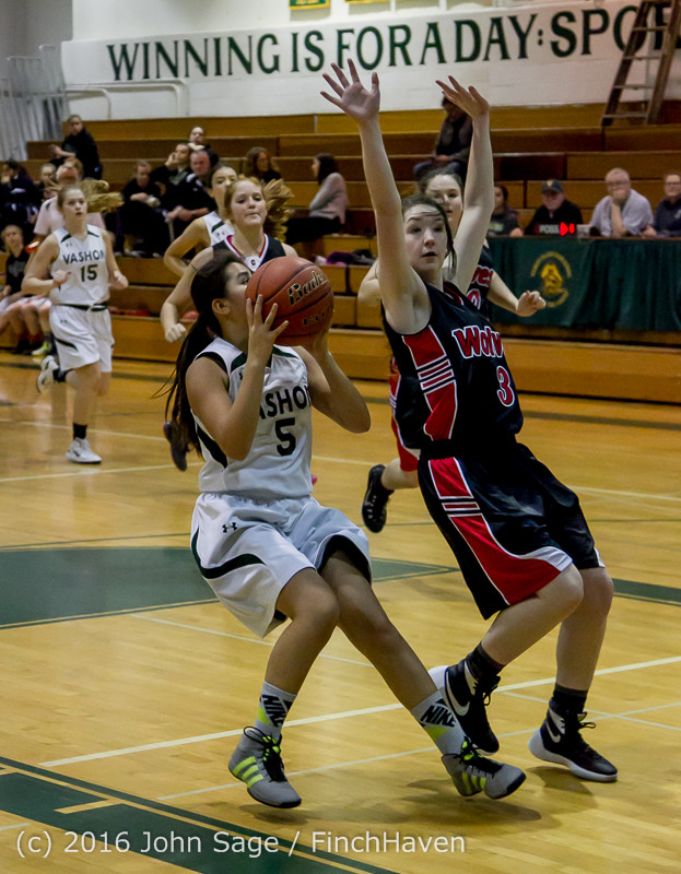 4055 Girls JV Basketball v Coupeville 122215
