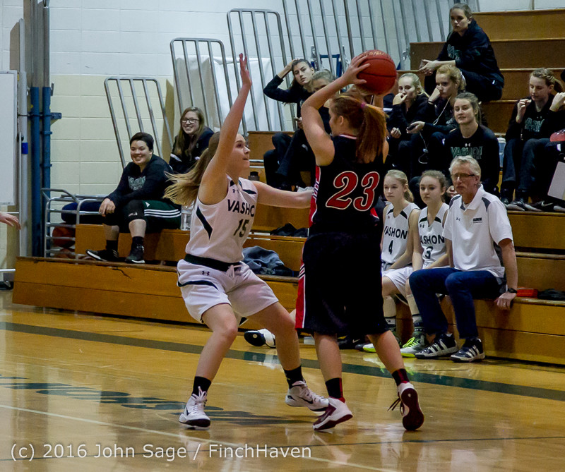 4070 Girls JV Basketball v Coupeville 122215