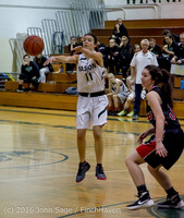 4091 Girls JV Basketball v Coupeville 122215