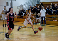 4103 Girls JV Basketball v Coupeville 122215