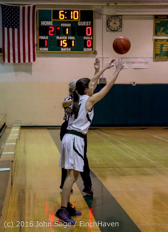 4122 Girls JV Basketball v Coupeville 122215