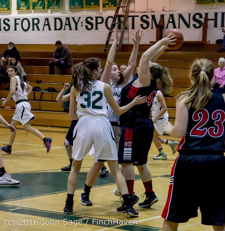 4173 Girls JV Basketball v Coupeville 122215