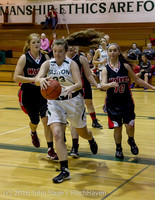 4185 Girls JV Basketball v Coupeville 122215