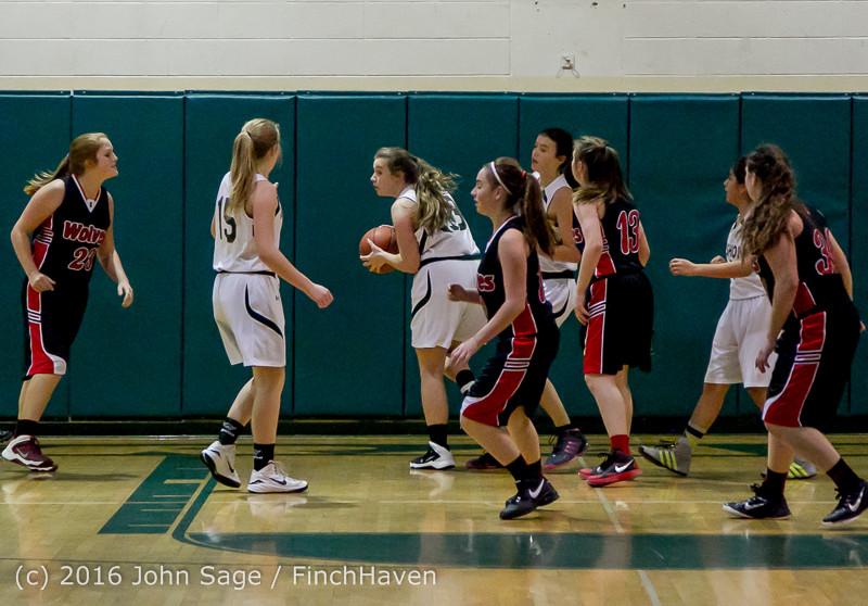4214 Girls JV Basketball v Coupeville 122215