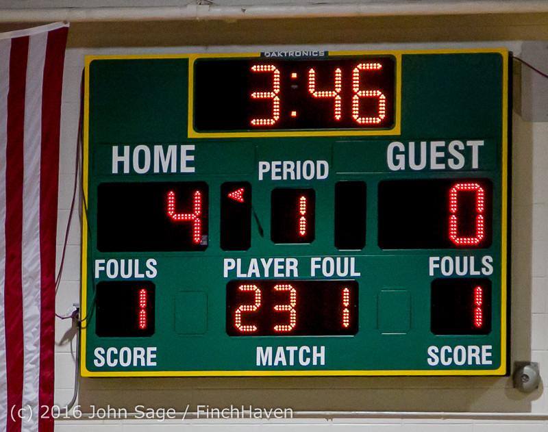 4220 Girls JV Basketball v Coupeville 122215