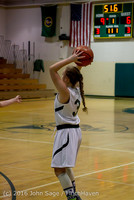 4280 Girls JV Basketball v Coupeville 122215