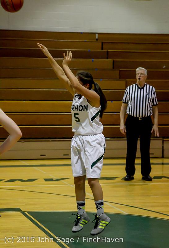 4289 Girls JV Basketball v Coupeville 122215