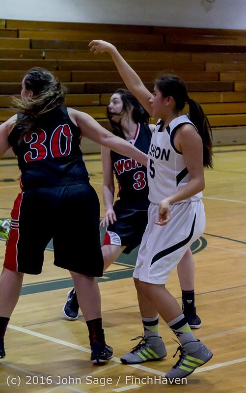 4312 Girls JV Basketball v Coupeville 122215