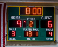 4316 Girls JV Basketball v Coupeville 122215