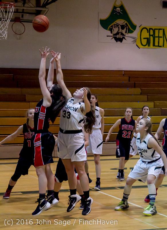 4321 Girls JV Basketball v Coupeville 122215