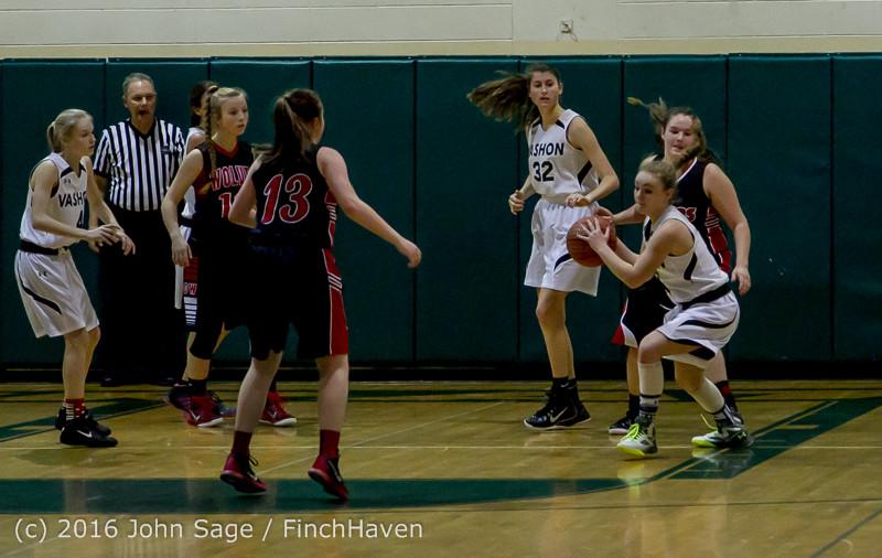 4330 Girls JV Basketball v Coupeville 122215