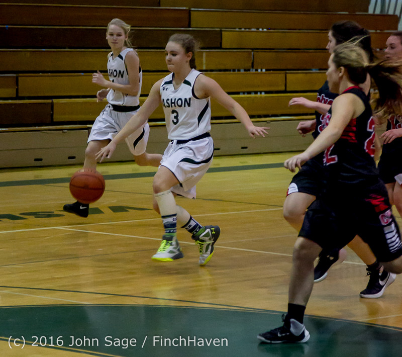 4335 Girls JV Basketball v Coupeville 122215