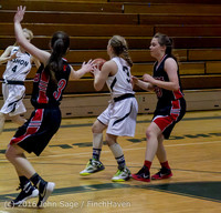 4342 Girls JV Basketball v Coupeville 122215