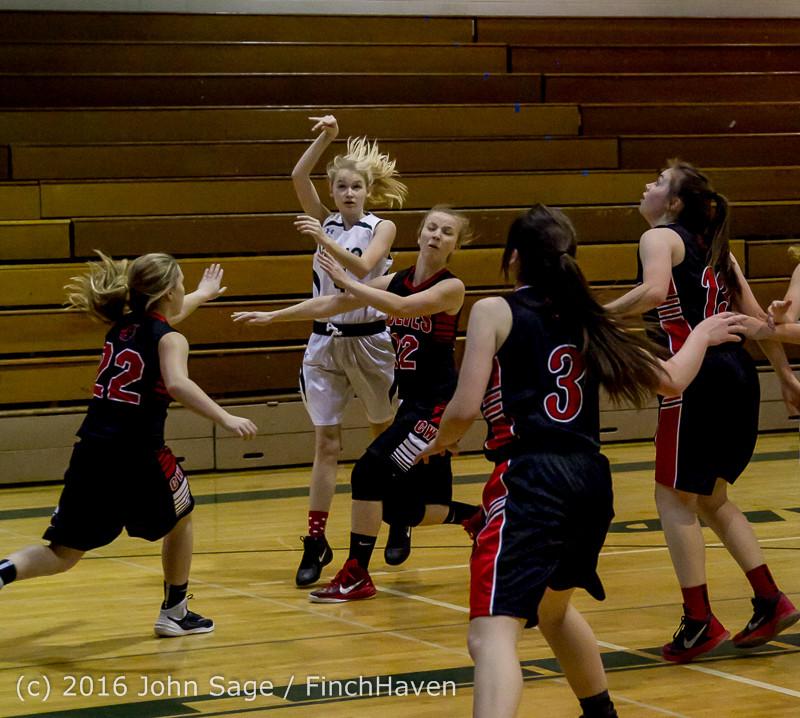 4348 Girls JV Basketball v Coupeville 122215