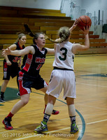 4430 Girls JV Basketball v Coupeville 122215