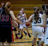 4431 Girls JV Basketball v Coupeville 122215