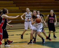 4439 Girls JV Basketball v Coupeville 122215