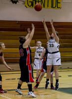 4442 Girls JV Basketball v Coupeville 122215