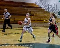 4470 Girls JV Basketball v Coupeville 122215