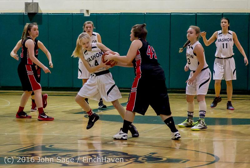 4491 Girls JV Basketball v Coupeville 122215