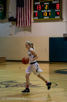 4504 Girls JV Basketball v Coupeville 122215