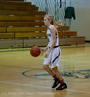 4508 Girls JV Basketball v Coupeville 122215