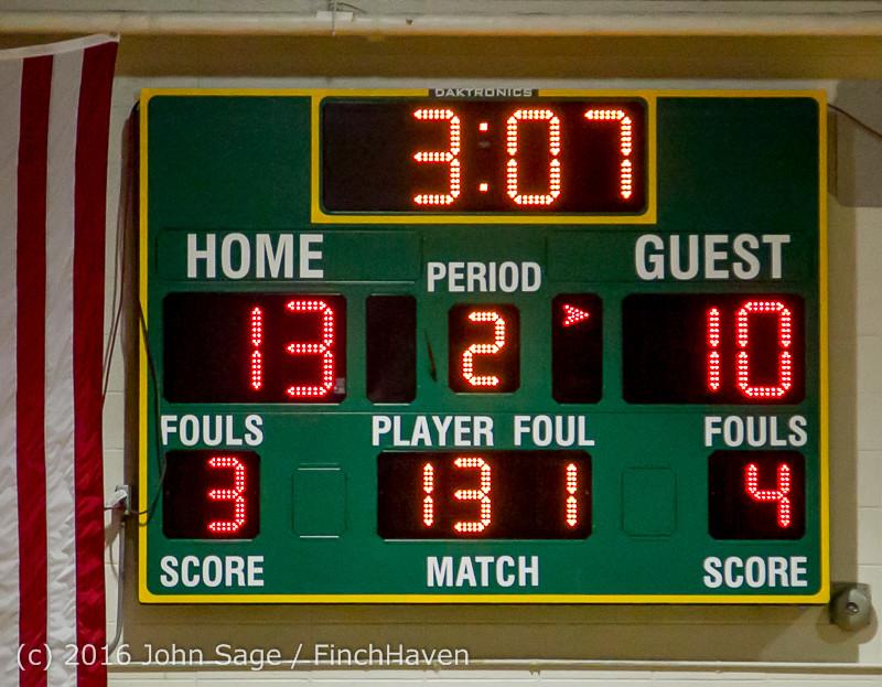 4510 Girls JV Basketball v Coupeville 122215