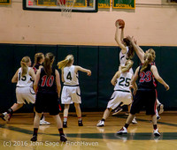 4521 Girls JV Basketball v Coupeville 122215