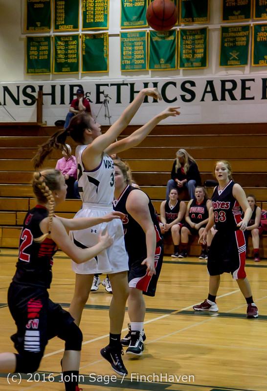 4530 Girls JV Basketball v Coupeville 122215
