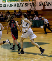 4545 Girls JV Basketball v Coupeville 122215
