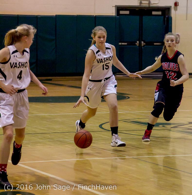 4552 Girls JV Basketball v Coupeville 122215